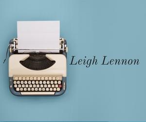 Leigh Lennon Typewriter 2